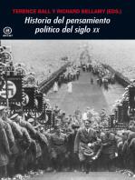 Historia del pensamiento político en el siglo XX