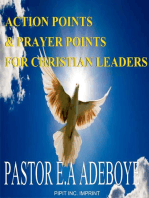 Action Points & Prayer Points For Christian Leaders
