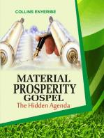 Material Prosperity Gospel