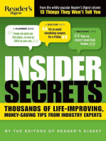 Insider Secrets: Thousands of Life-Improving, Money-Saving Tips from Industry Experts