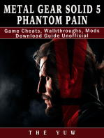 Metal Gear Solid 5 Phantom Pain Game Cheats, Walkthroughs, Mods Download Guide Unofficial