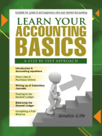 Learn your Accounting basics - A step by step approach