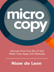 Microcopy: Discover How Tiny Bits of Text Make Tasty Apps and Websites
