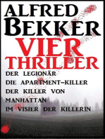 Vier Alfred Bekker Thriller