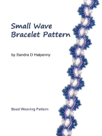 Small Wave Bracelet Pattern