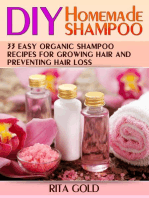 Diy Homemade Shampoo