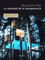 La sociedad de la transparencia
