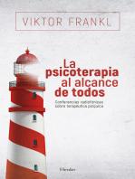 La psicoterapia al alcance de todos: Conferencias radiofónicas sobre terapéutica psíquica