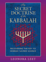 The Secret Doctrine of the Kabbalah