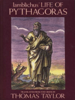 Iamblichus' Life of Pythagoras