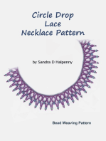 Circle Drop Lace Necklace Pattern
