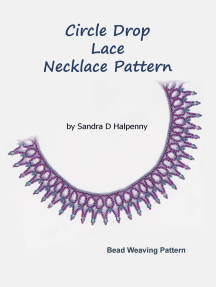 Circle Drop Lace Necklace Pattern