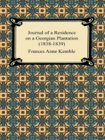 Journal of a Residence on a Georgian Plantation (1838-1839)