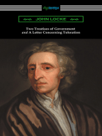 Two Treatises of Government and A Letter Concerning Toleration (with an Introduction by Henry Morley)