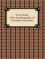 Ecce Homo (The Autobiography of Friedrich Nietzsche)