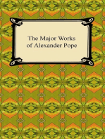 The Major Works of Alexander Pope