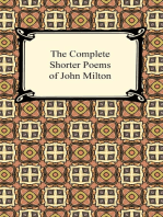 The Complete Shorter Poems of John Milton