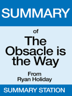 Summary of The Obstacle is the Way