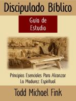 Discipulado Biblico Guía de Estudio