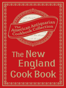 The New England Cook Book: Or, Young Housekeeper's Guide