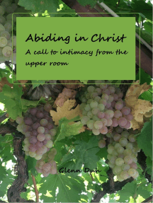 Abiding in Christ: a call to intimacy from the Upper Room