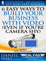 6 Easy Ways to Build Your Business with Video (Even If You're Camera Shy)