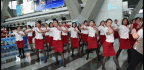 Fake News Twists Hong Kong Airline Hostesses' Refusal to Wear Chinese Name Tags