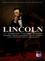 LINCOLN – Complete 7 Volume Edition