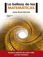 La belleza de las matemáticas