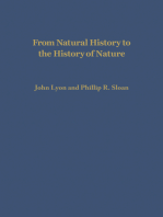 From Natural History to the History of Nature: Readings from Buffon and His Critics