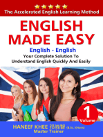 English Made Easy: Your Complete Solution To Understand English Quickly And Easily
