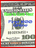 How to Earn Your First $100 Online