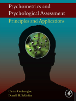 Psychometrics and Psychological Assessment: Principles and Applications