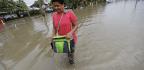 Heavy Rains And Flooding As Tropical Storm Cindy Makes Landfall