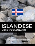 Libro Vocabolario Islandese