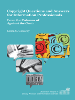 Copyright Questions and Answers for Information Professionals