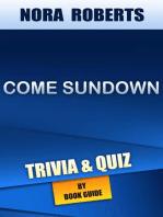 Come Sundown by Nora Roberts | Trivia/Quiz