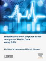 Biostatistics and Computer-based Analysis of Health Data Using SAS