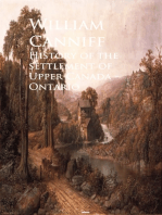 History of the settlement of Upper Canada - Ontario