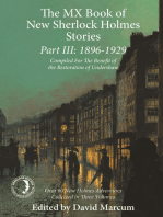 The MX Book of New Sherlock Holmes Stories Part III
