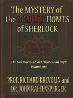 The Mystery of the Scarlet Homes Of Sherlock