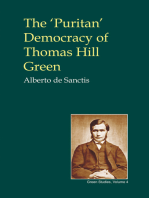The 'Puritan' Democracy of Thomas Hill Green