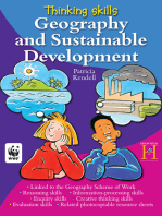 Thinking Skills - Geography and Sustainable Development