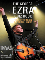 The George Ezra Quiz Book