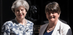 Britain's May Forms Minority Government With Backing Of Northern Irish Party