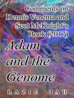 Comments on Dennis Venema and Scot McKnight's Book (2017) Adam and the Genome