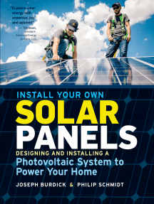 Read Install Your Own Solar Panels Online By Joseph Burdick And Philip Schmidt Books