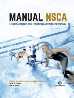 Manual NSCA: Fundamentos del entrenamiento personal