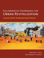 Collaborative Governance for Urban Revitalization