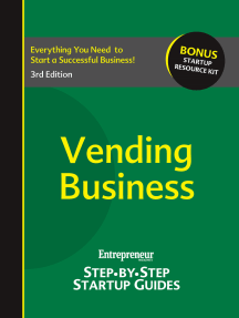 Vending Business: Step-by-Step Startup Guide